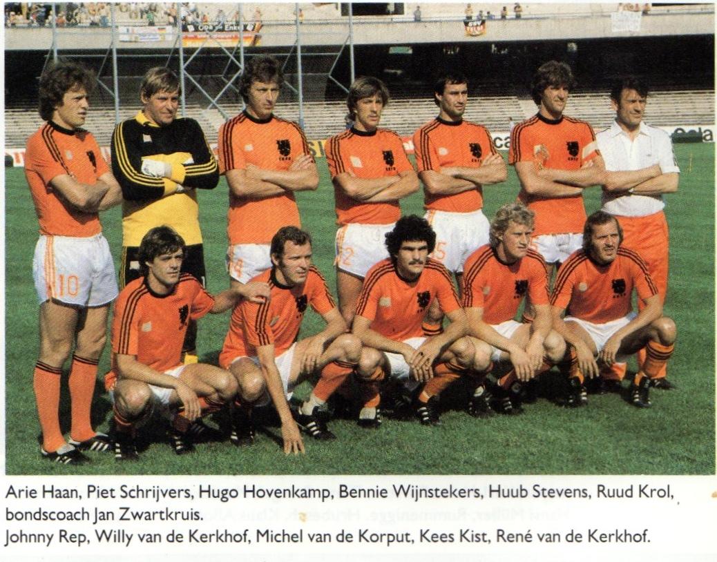 Soccer Nostalgia International Head to Head –Part one Holland