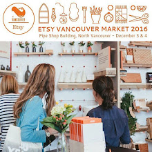 Etsy Vancouver Winter Market December 3rd and 4th
