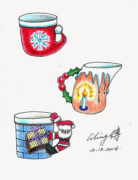 1、圣诞杯