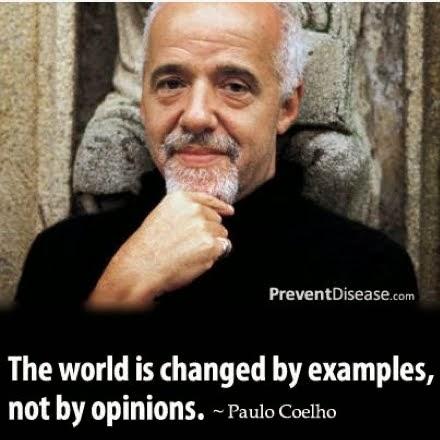 il mondo si cambia con l'esempio