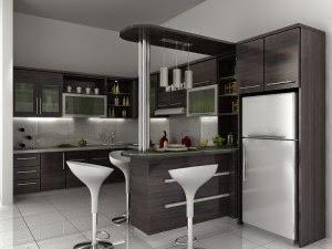 Contoh Ide Desain Ruang Dapur Minimalis