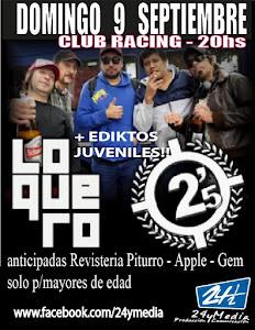 2 MINUTOS + LOQUERO!! DOMINGO 9 DE SEPTIEMBRE 2012
