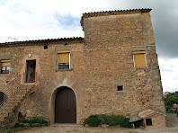 L'antiga porta principal de la casa Els Quatre Vents
