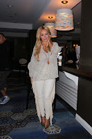 Aubrey O'Day white outfit