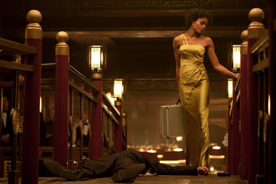Naomie Harris as Eve aka Mrs. Moneypenny, Skyfall (2012), directed by Sam Mendes