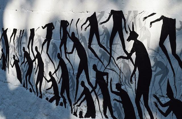 """""""Senda"""" New Street Art Piece By David De La Mano In Montevideo, Uruguay. 2"""