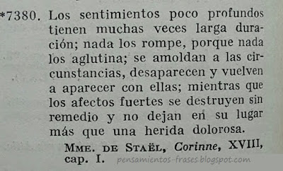 frases de Mme. De Staël