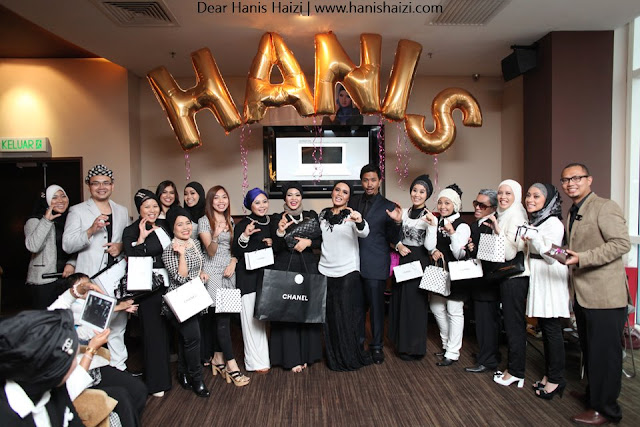 Coco Chanel private party hanis haizi with cdm adibah karimah c for chanel