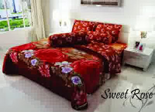 Sprei Kintakun Sweet Rose