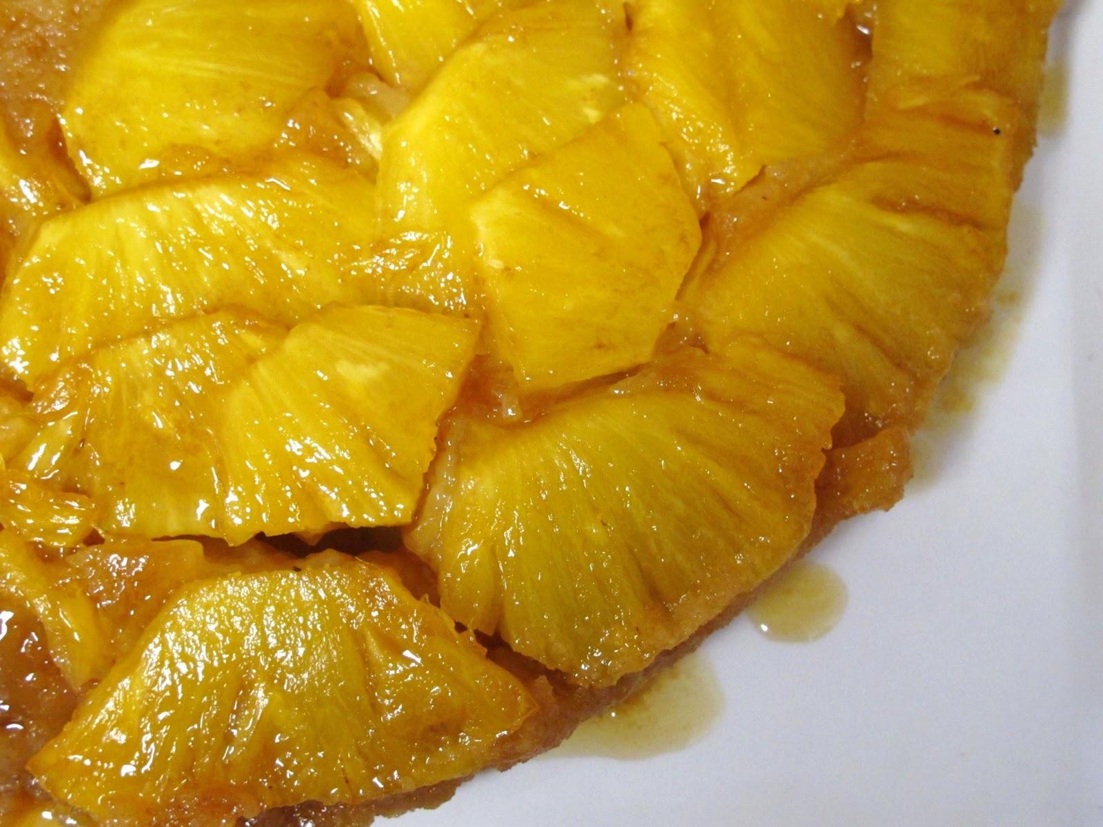 The Small Boston Kitchen Classic Pineapple Upside Down Cake