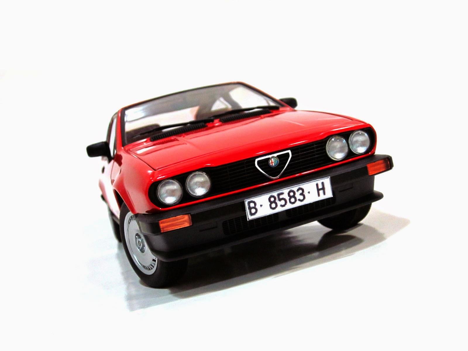 Alfa Romeo Alfetta GTV 2000 '80 - AUTOart