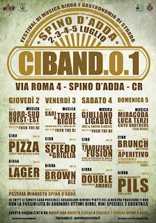 Ciband.0.1 dal 2 al 5 Luglio Spino d'Adda