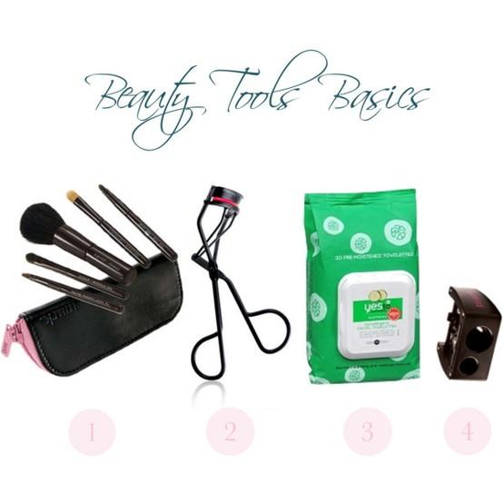 brush kit, eyelash curler, face wipes, pencil sharpener, makeup, beauty, beauty tips, makeup tips, makeup tools, beauty tools