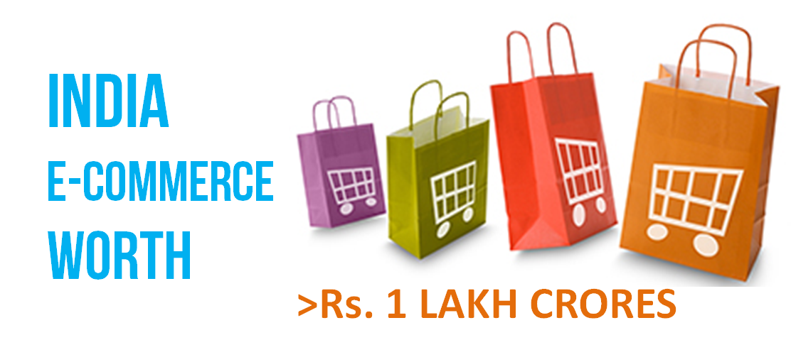 India e-commerce industry worth Rs 1 lakh crore plus