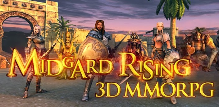 MIDGARD RISING - MMORPG 3D Apk v1.6537 + Data Free [Torrent]