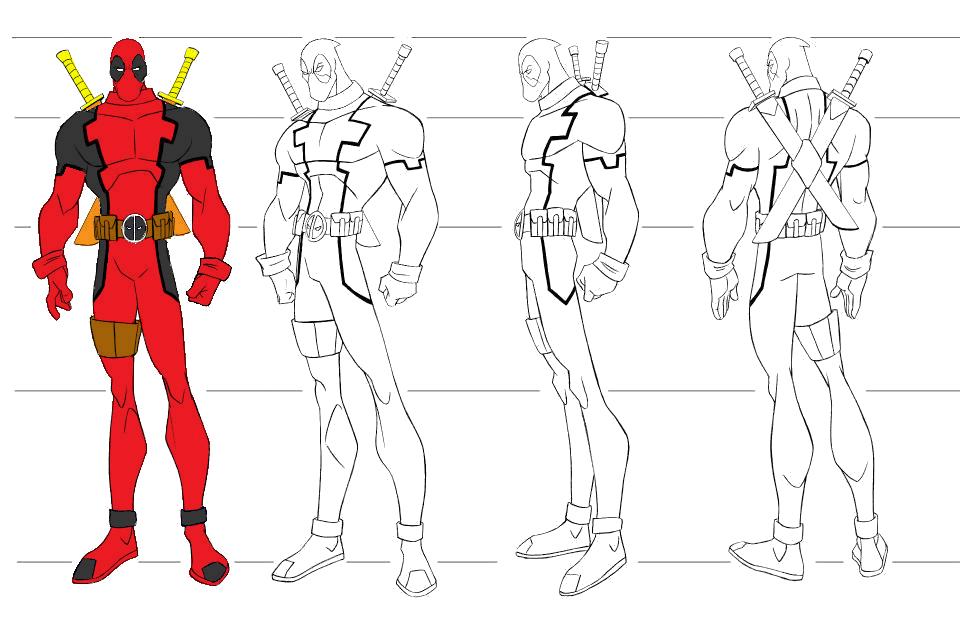 imagens para colorir do wolverine - Desenhos de Super heróis para colorir jogos de pintar e