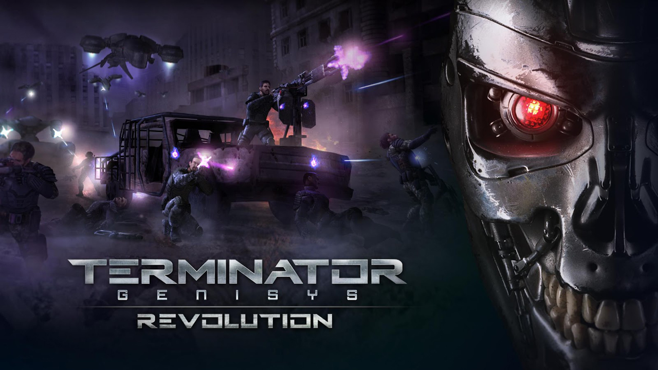 TERMINATOR GENISYS: REVOLUTION Gameplay IOS / Android