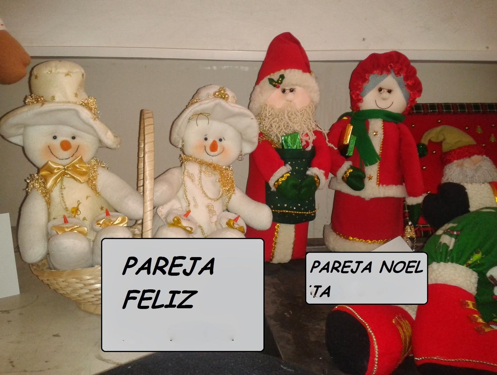 Munecos de Navidad ~ pastoanuncios