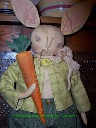 Boy Bunny w/carrot