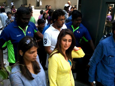 Kareena, Imran Khan & Shraddha on sets of Gori Tere Pyaar Mein (GTPM)