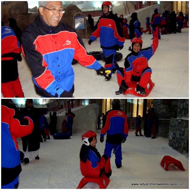 fun-filled family time at Ski Dubai's Snow Park