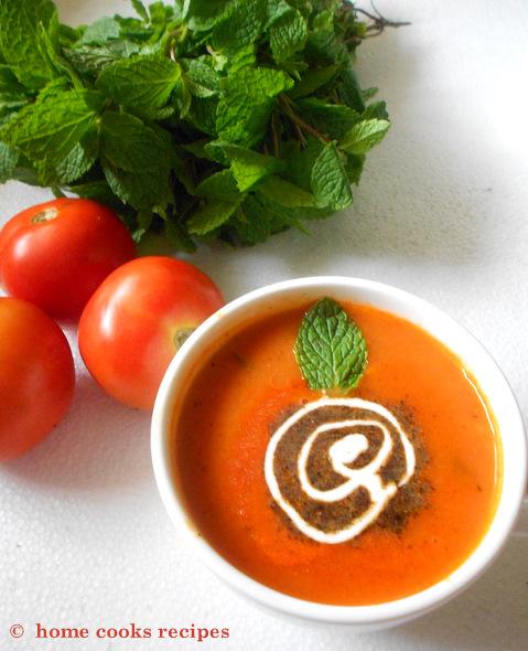 Cream of tomato soup | Home Cooks Recipe