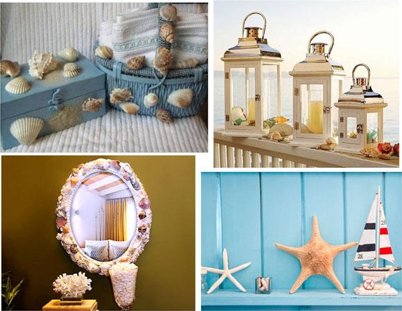 dicas de decoracao de interiores de casas simples : dicas de decoracao de interiores de casas simples:Quadrinhos com motivos praianos colocamos em harmonia.