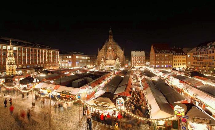 the festive city of Nuremberg - home to the world-famous original Christmas market