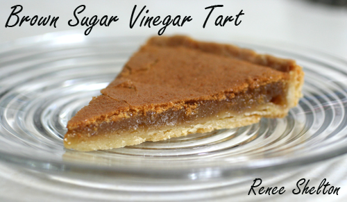 ... vinegar pies the thought of mixing vinegar with sugar for a dessert