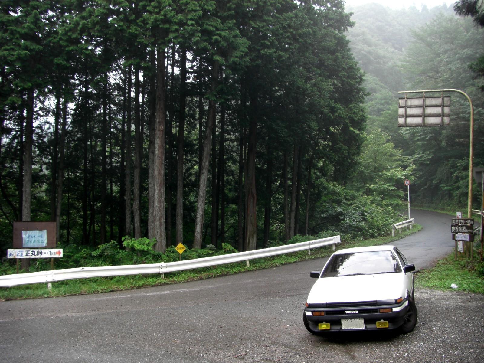 touge, nielegalne wyścigi, kręte, górskie drogi, japońskie, JDM, modded, Toyota AE86