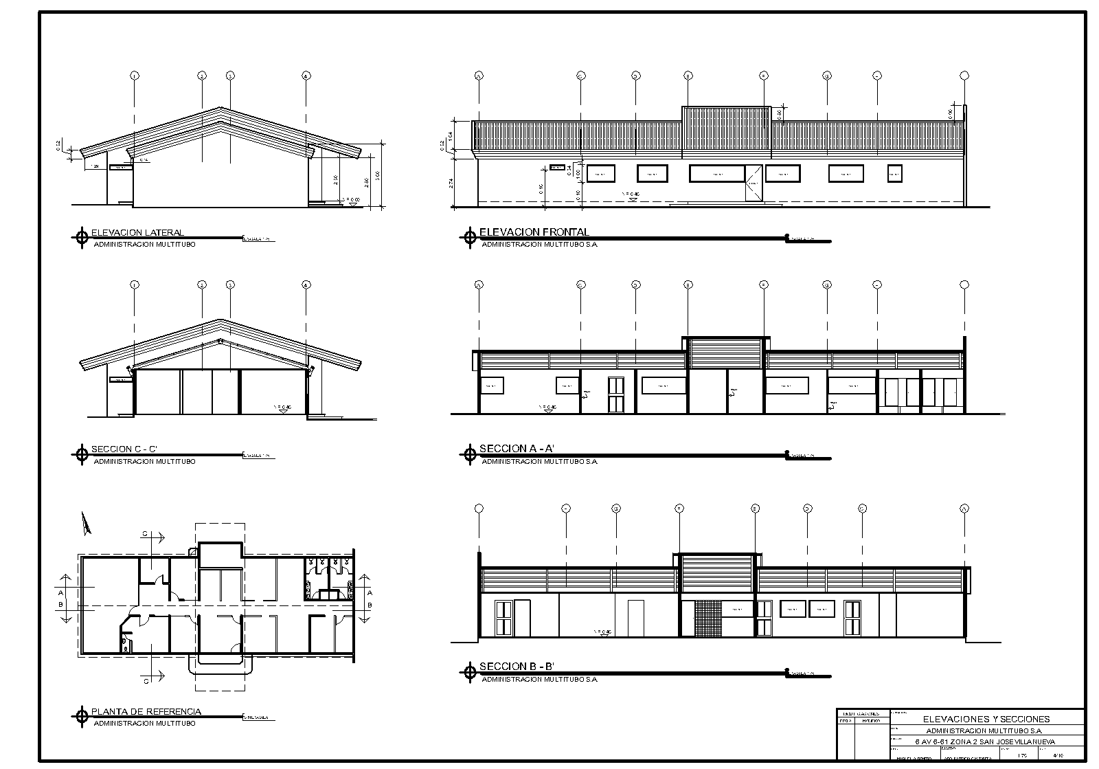 dise o arquitectonico esquema arquitect nico