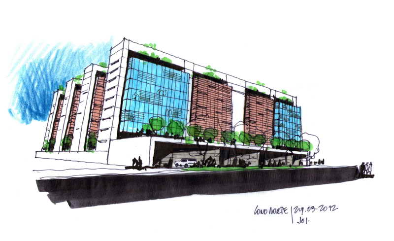 Dibujos de arquitecto architect drawings 120329 mega - Trabajo arquitecto barcelona ...