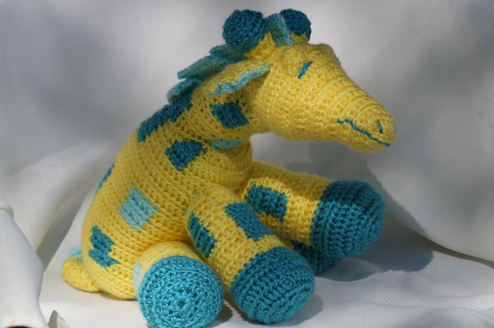 Giraffe Baby Blanket Knitting Pattern : In My