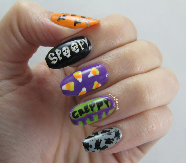 Spoopy and Creppy Halloween Nails (Trick or Troat)