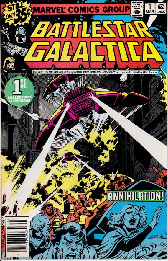 Battlestar Galactica (1979 Marvel) #1, March 1979 Issue - Marvel Comics - Grade VF/NM