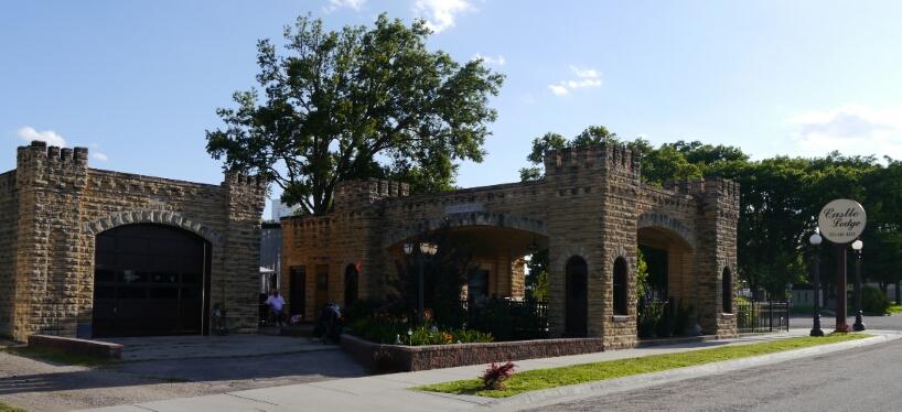 Glen Elder's castle
