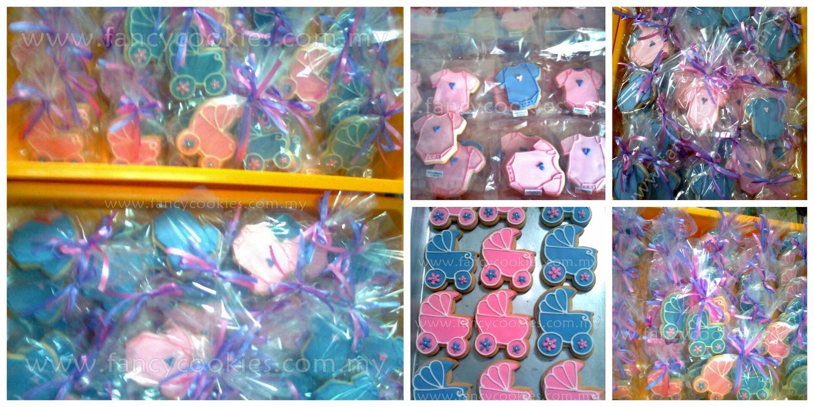 fancy cookies aqiqah baby girl
