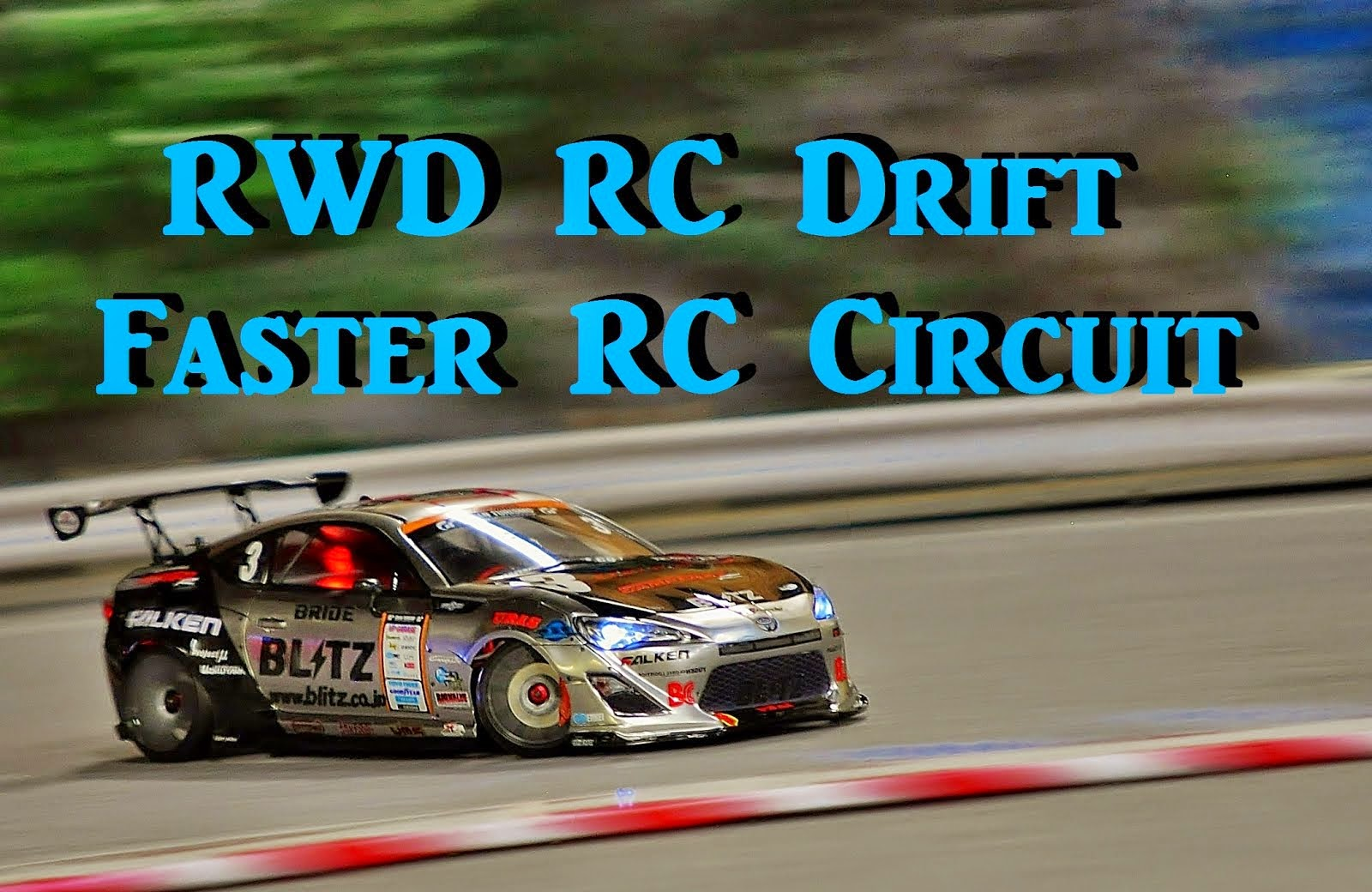 RWD drift video
