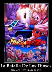 Dragon Ball Z batalla dioses