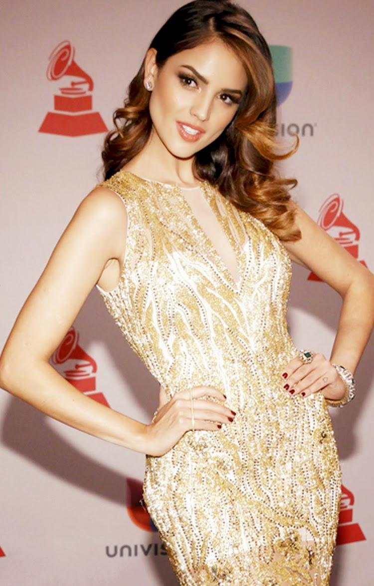 Eiza Gonzalez at 2014 Latin Grammy Awards Red Carpet Arrivals