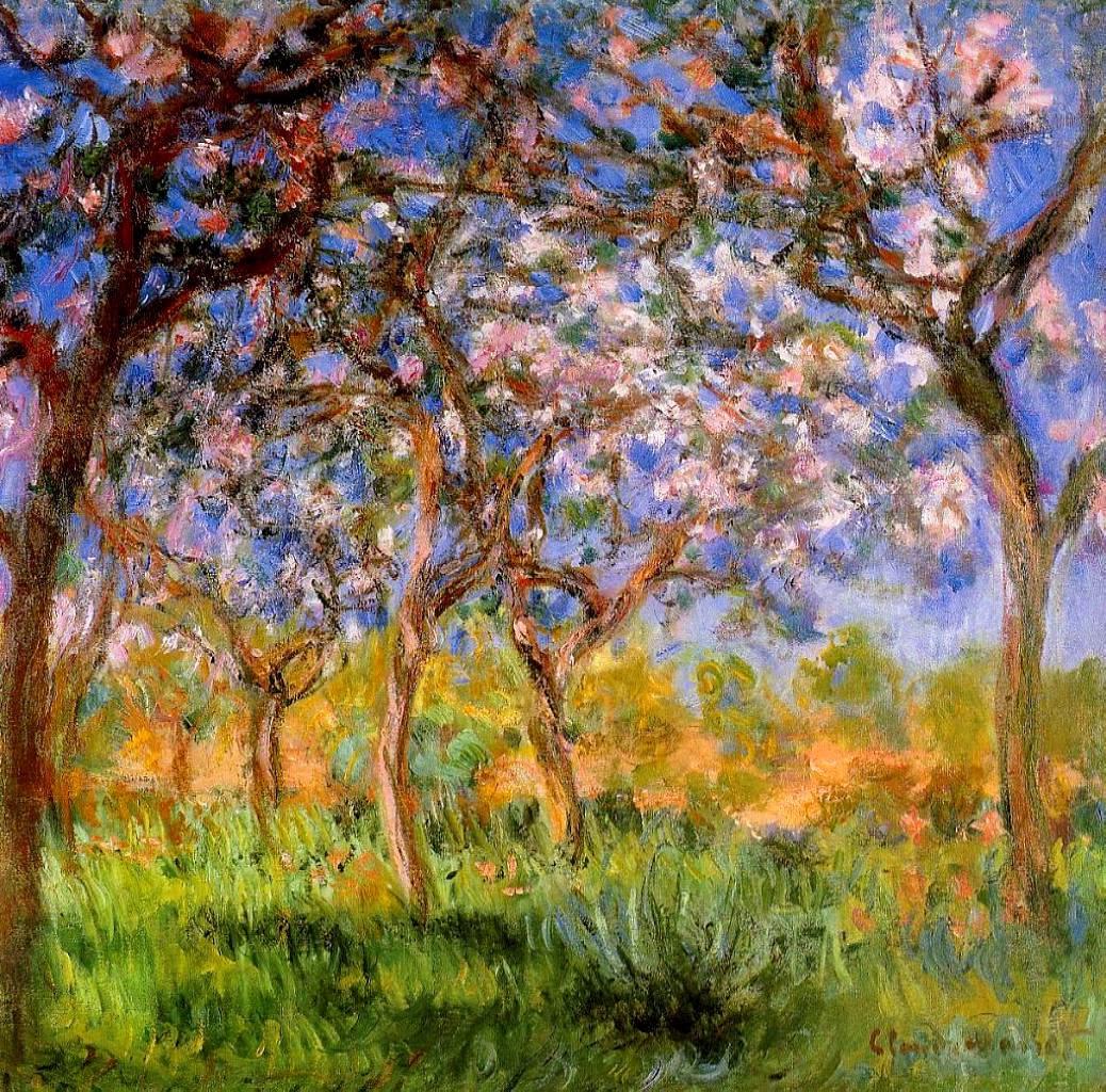 Art artists claude monet part 25 1899 1904 for Spring canvas paintings