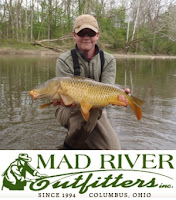 Fly carpin carp fly fishing guides ohio for Fly fishing ohio