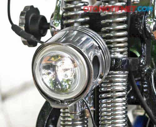 Foto Modifikasi Suzuki GSX 400, Blesteran Jepang-Amerika