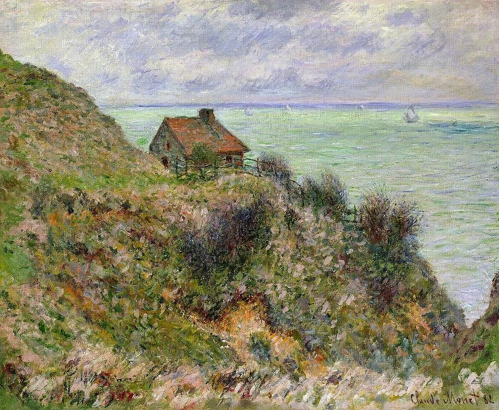 La Maison du pêcheur, temps couvert (1882)