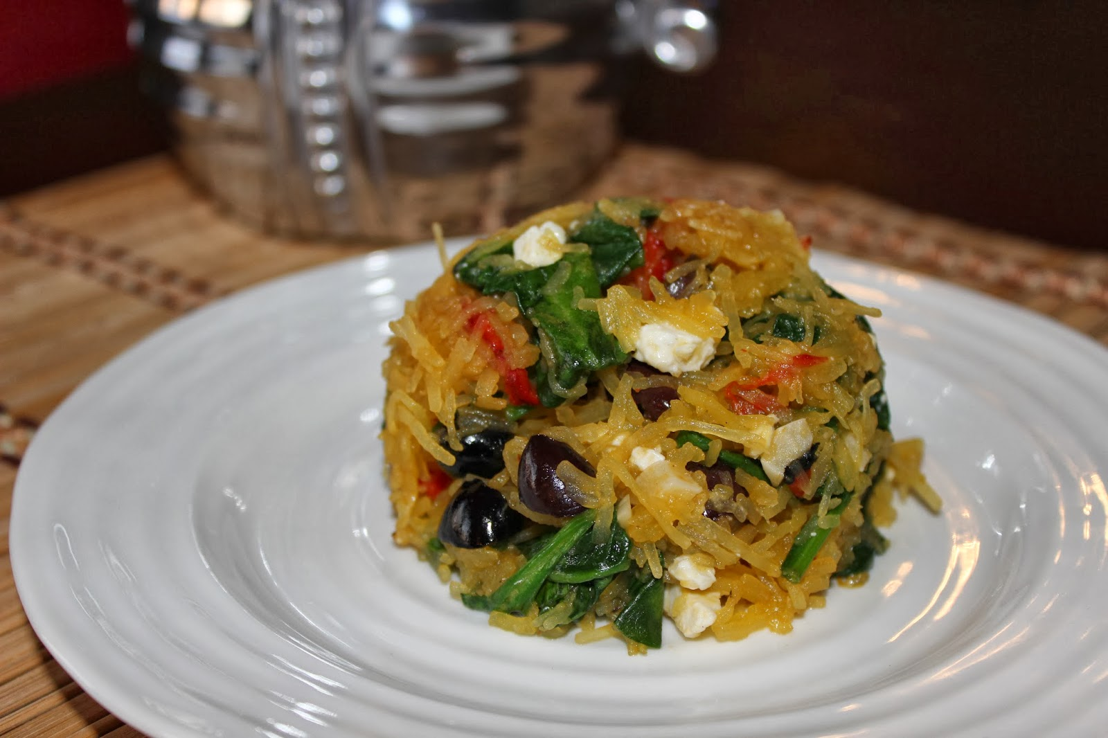Roasted Red Pepper Spaghetti Squash