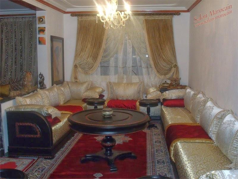Salon marocain traditionnel 2014 - Décoration Salon Marocain Moderne ...