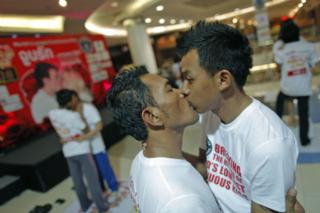 Gay Couple Sets World Record for Longest Kiss
