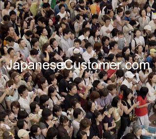 Japanese customers copyright peter hanami 2007