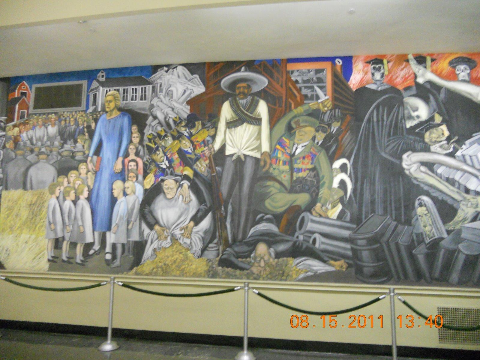 Dartmouth library orozco murals mcentegart 39 s rv escapades for Dartmouth mural