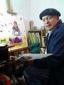 "Pintura: Jorge Antonio Chávez ""El charro"""